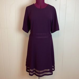 Calvin Klein Plus Size Fit & Flare Party Dress